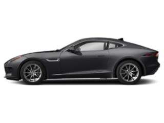 Carpathian Grey 2019 Jaguar F-TYPE Pictures F-TYPE Coupe Auto P300 photos side view