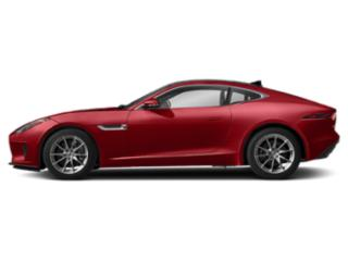 Caldera Red 2019 Jaguar F-TYPE Pictures F-TYPE Coupe Auto P300 photos side view