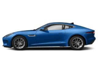 Ultra Blue Metallic 2019 Jaguar F-TYPE Pictures F-TYPE Coupe Auto P300 photos side view