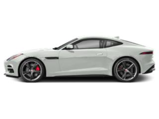 Fuji White 2019 Jaguar F-TYPE Pictures F-TYPE Coupe Auto R-Dynamic AWD photos side view