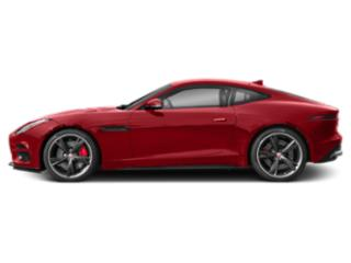 Caldera Red 2019 Jaguar F-TYPE Pictures F-TYPE Coupe Auto R-Dynamic AWD photos side view