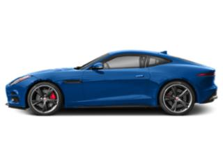 Ultra Blue Metallic 2019 Jaguar F-TYPE Pictures F-TYPE Coupe Auto R-Dynamic AWD photos side view