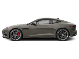Silicon Silver 2019 Jaguar F-TYPE Pictures F-TYPE Coupe Auto R-Dynamic AWD photos side view