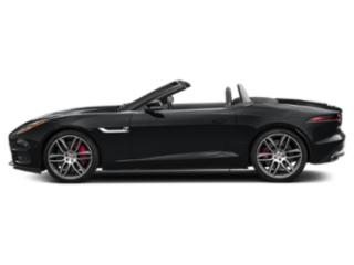 Santorini Black Metallic 2019 Jaguar F-TYPE Pictures F-TYPE Convertible Auto R AWD photos side view