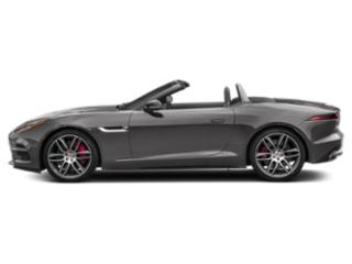 Corris Grey Metallic 2019 Jaguar F-TYPE Pictures F-TYPE Convertible Auto R AWD photos side view