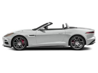 Indus Silver Metallic 2019 Jaguar F-TYPE Pictures F-TYPE Convertible Auto R AWD photos side view
