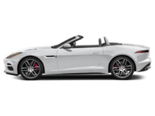 Yulong White Metallic 2019 Jaguar F-TYPE Pictures F-TYPE Convertible Auto R AWD photos side view