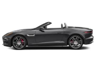 Carpathian Grey 2019 Jaguar F-TYPE Pictures F-TYPE Convertible Auto R AWD photos side view