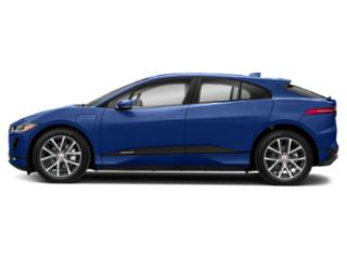 Caesium Blue 2019 Jaguar I-PACE Pictures I-PACE SE AWD photos side view