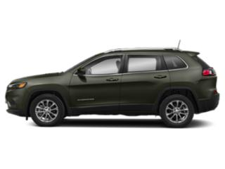 Olive Green Pearlcoat 2019 Jeep Cherokee Pictures Cherokee Limited FWD photos side view