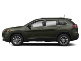 Olive Green Pearlcoat 2019 Jeep Cherokee Pictures Cherokee Latitude FWD photos side view