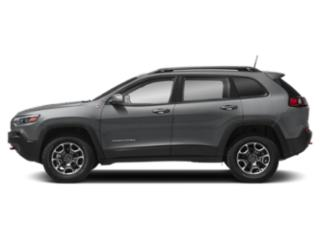 Billet Silver Metallic Clearcoat 2019 Jeep Cherokee Pictures Cherokee Trailhawk Elite 4x4 photos side view