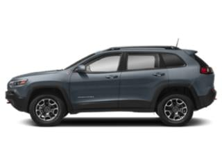 Blue Shade Pearlcoat 2019 Jeep Cherokee Pictures Cherokee Trailhawk 4x4 photos side view
