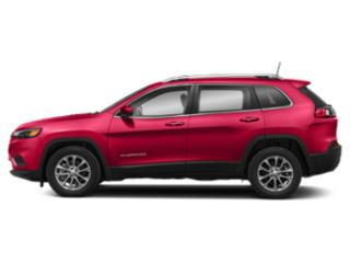 Firecracker Red Clearcoat 2019 Jeep Cherokee Pictures Cherokee Trailhawk Elite 4x4 photos side view