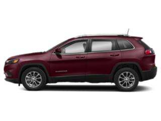 Velvet Red Pearlcoat 2019 Jeep Cherokee Pictures Cherokee Limited FWD photos side view