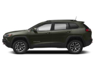 Olive Green Pearlcoat 2019 Jeep Cherokee Pictures Cherokee Trailhawk Elite 4x4 photos side view
