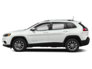 Bright White Clearcoat 2019 Jeep Cherokee Pictures Cherokee Latitude FWD photos side view