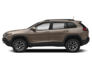 Light Brownstone Pearlcoat 2019 Jeep Cherokee Pictures Cherokee Trailhawk 4x4 photos side view