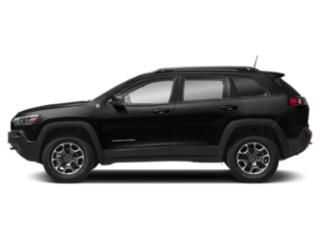 Diamond Black Crystal Pearlcoat 2019 Jeep Cherokee Pictures Cherokee Trailhawk 4x4 photos side view