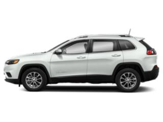Bright White Clearcoat 2019 Jeep Cherokee Pictures Cherokee Altitude 4x4 photos side view