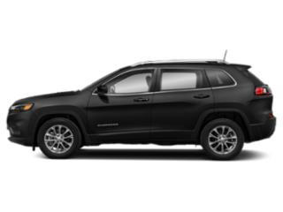 Diamond Black Crystal Pearlcoat 2019 Jeep Cherokee Pictures Cherokee Altitude 4x4 photos side view