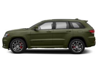 Green Metallic Clearcoat 2019 Jeep Grand Cherokee Pictures Grand Cherokee SRT 4x4 photos side view