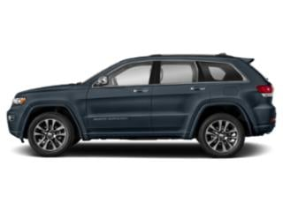 Slate Blue Pearlcoat 2019 Jeep Grand Cherokee Pictures Grand Cherokee Overland 4x4 photos side view