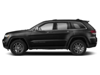 Diamond Black Crystal Pearlcoat 2019 Jeep Grand Cherokee Pictures Grand Cherokee Limited 4x4 photos side view