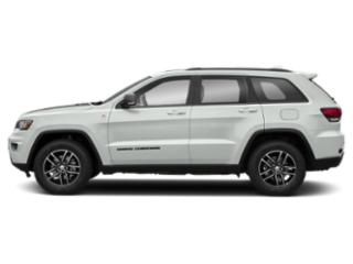 Bright White Clearcoat 2019 Jeep Grand Cherokee Pictures Grand Cherokee Trailhawk 4x4 photos side view