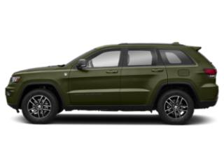 Green Metallic Clearcoat 2019 Jeep Grand Cherokee Pictures Grand Cherokee Trailhawk 4x4 photos side view