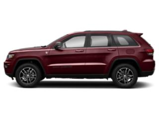 Velvet Red Pearlcoat 2019 Jeep Grand Cherokee Pictures Grand Cherokee Trailhawk 4x4 photos side view