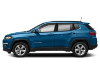 Laser Blue Pearlcoat 2019 Jeep Compass Pictures Compass Sport 4x4 photos side view