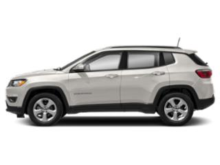 White Clearcoat 2019 Jeep Compass Pictures Compass Sport 4x4 photos side view