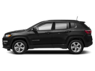 Diamond Black Crystal Pearlcoat 2019 Jeep Compass Pictures Compass Latitude FWD photos side view