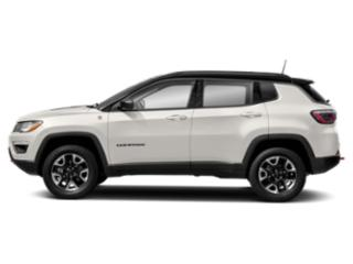 White Clearcoat 2019 Jeep Compass Pictures Compass Trailhawk 4x4 photos side view