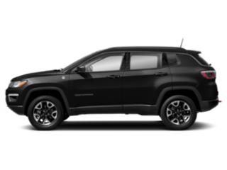 Diamond Black Crystal Pearlcoat 2019 Jeep Compass Pictures Compass Trailhawk 4x4 photos side view