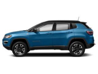 Laser Blue Pearlcoat 2019 Jeep Compass Pictures Compass Trailhawk 4x4 photos side view
