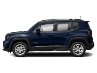 Jetset Blue Clearcoat 2019 Jeep Renegade Pictures Renegade Limited 4x4 photos side view