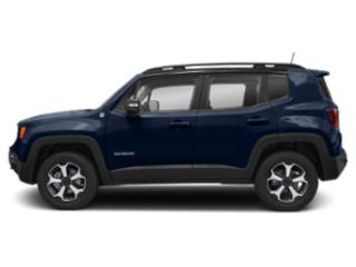 Jetset Blue Clearcoat 2019 Jeep Renegade Pictures Renegade Trailhawk 4x4 photos side view
