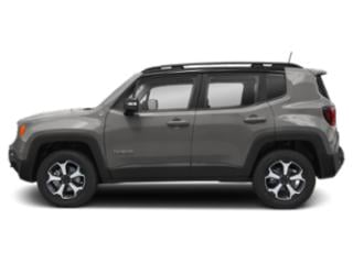 Glacier Metallic Clearcoat 2019 Jeep Renegade Pictures Renegade Trailhawk 4x4 photos side view