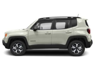 Alpine White Clearcoat 2019 Jeep Renegade Pictures Renegade Trailhawk 4x4 photos side view