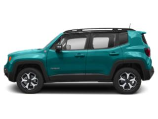 Bikini Metallic Clear Coat 2019 Jeep Renegade Pictures Renegade Trailhawk 4x4 photos side view