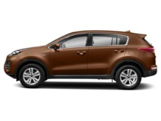 Burnished Copper 2019 Kia Sportage Pictures Sportage LX AWD photos side view