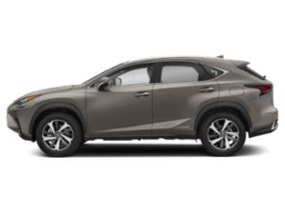 Atomic Silver 2019 Lexus NX Pictures NX NX 300h AWD photos side view