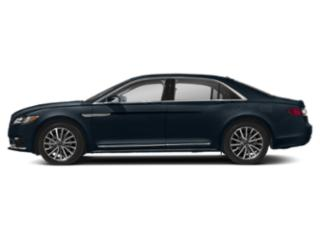 Rhapsody Blue 2019 Lincoln Continental Pictures Continental Black Label AWD photos side view