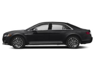 Infinite Black Metallic 2019 Lincoln Continental Pictures Continental Black Label AWD photos side view