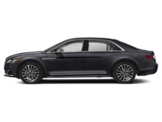 Chroma Caviar Dark Gray Premium Met (Chromoflare) 2019 Lincoln Continental Pictures Continental Black Label AWD photos side view