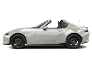 Arctic White 2019 Mazda MX-5 Miata RF Pictures MX-5 Miata RF Club Manual photos side view
