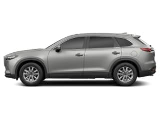 Sonic Silver Metallic 2019 Mazda CX-9 Pictures CX-9 Sport AWD photos side view