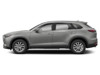 Sonic Silver Metallic 2019 Mazda CX-9 Pictures CX-9 Sport FWD photos side view
